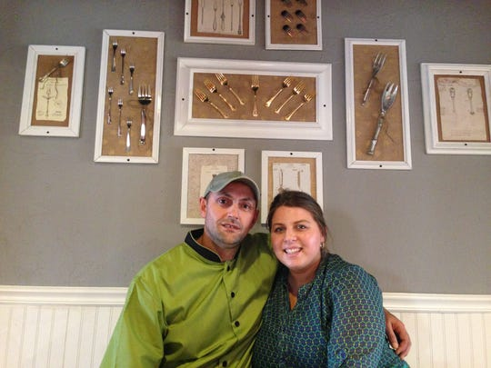 Ben and Meredith Martini opened The Golden Fork Cafe in Fort Myers in late 2014.