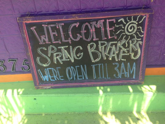 Yo! taco welcomes spring breakers