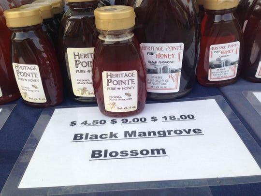 Black mangrove honey from Heritage Pointe Honey in Fort Myers