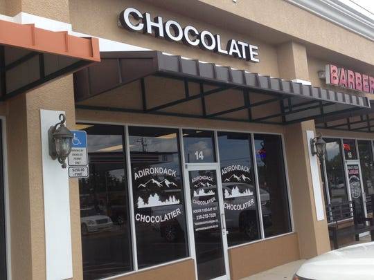 The Adirondack Chocolatier in Cape Coral has bacon wrapped in dark chocolate.