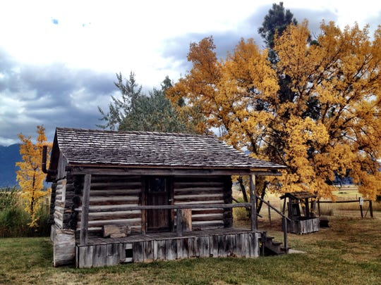The Ninepipe Museum is home to a historic cabin, along with many other artifacts from the Flathead Reservation.