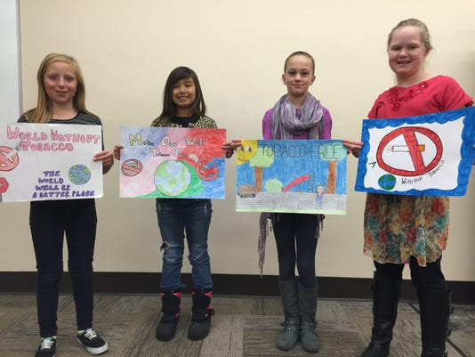 Great American Smokeout poster contest