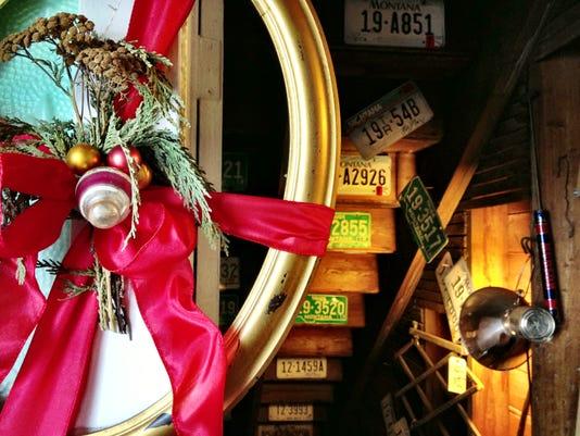 Wreath FAL 1130 Virgelle Christmas