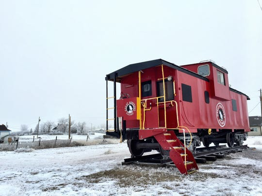 LAST WEEK: Several readers recognized that caboose that sits in the City Park in Kevin. Of the correct guesses, we drew Bill Boltz of Sunburst as this week's winner.