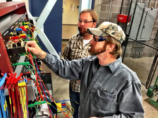 Great Falls College MSU industrial tech lab