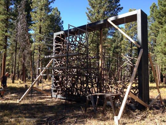Blackfoot Pathways sculpture garden