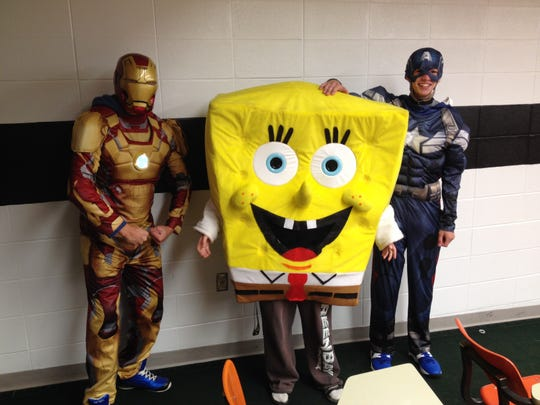 Children will be able to meet some of their favorite television and movie characters during this year's Halloween Walk at Algoma High School on Oct. 19 and 20.