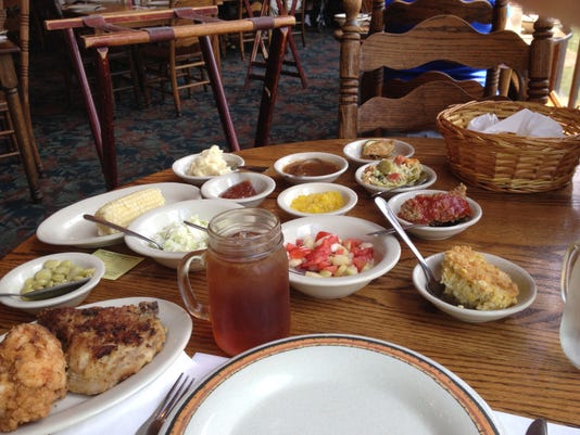 7.29.30 Lunch at the Dillard House is country chick..jpg