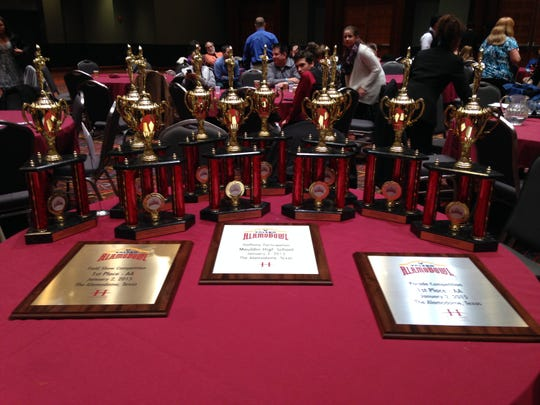 Mauldin High's band racked up awards at the Alamo Bowl competitions