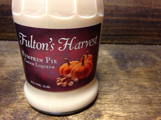 Fulton's Harvest pumpkin pie cream liqueur can add flavors of pumpkin to your cocktails. Available at Big Red Liquors in downtown Indianapolis.