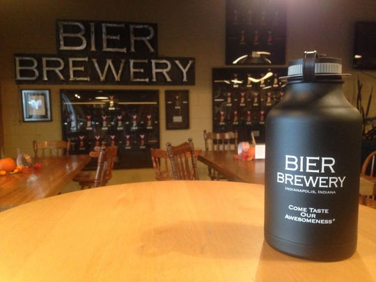 This hydro flask, available at Bier Brewery, will keep your suds cold for hours.