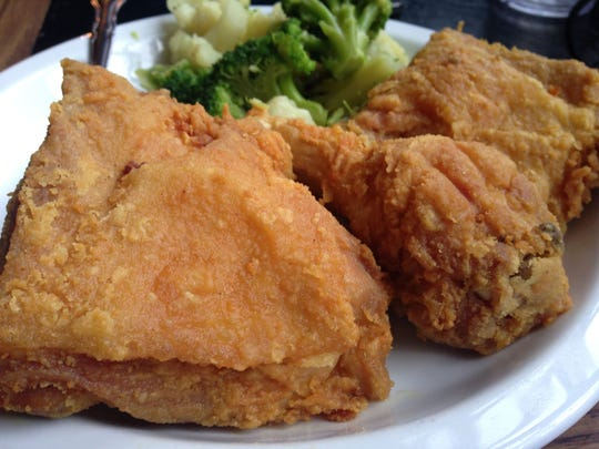 Gray Brothers' juicy, flour-dusted fried chicken is the best in town.
