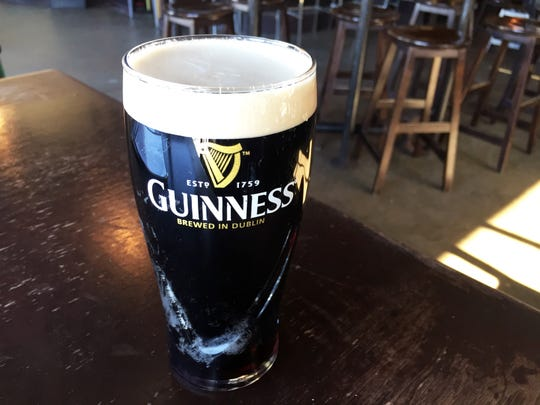 A perfect pint of Guinness from Brockway Pub in Carmel.