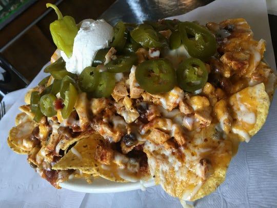 Mondo nachos at Old Point Tavern