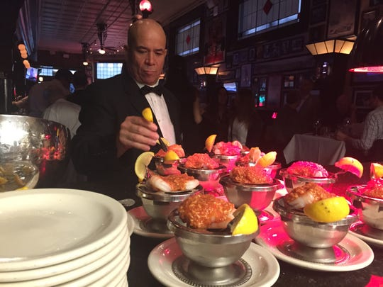 Diners eat around 9,000 to 10,000 famous St. Elmo shimp cocktails during Final Four tournament weekend.