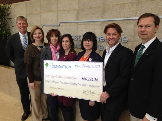 The Ayers Children's Medical Center received proceeds
