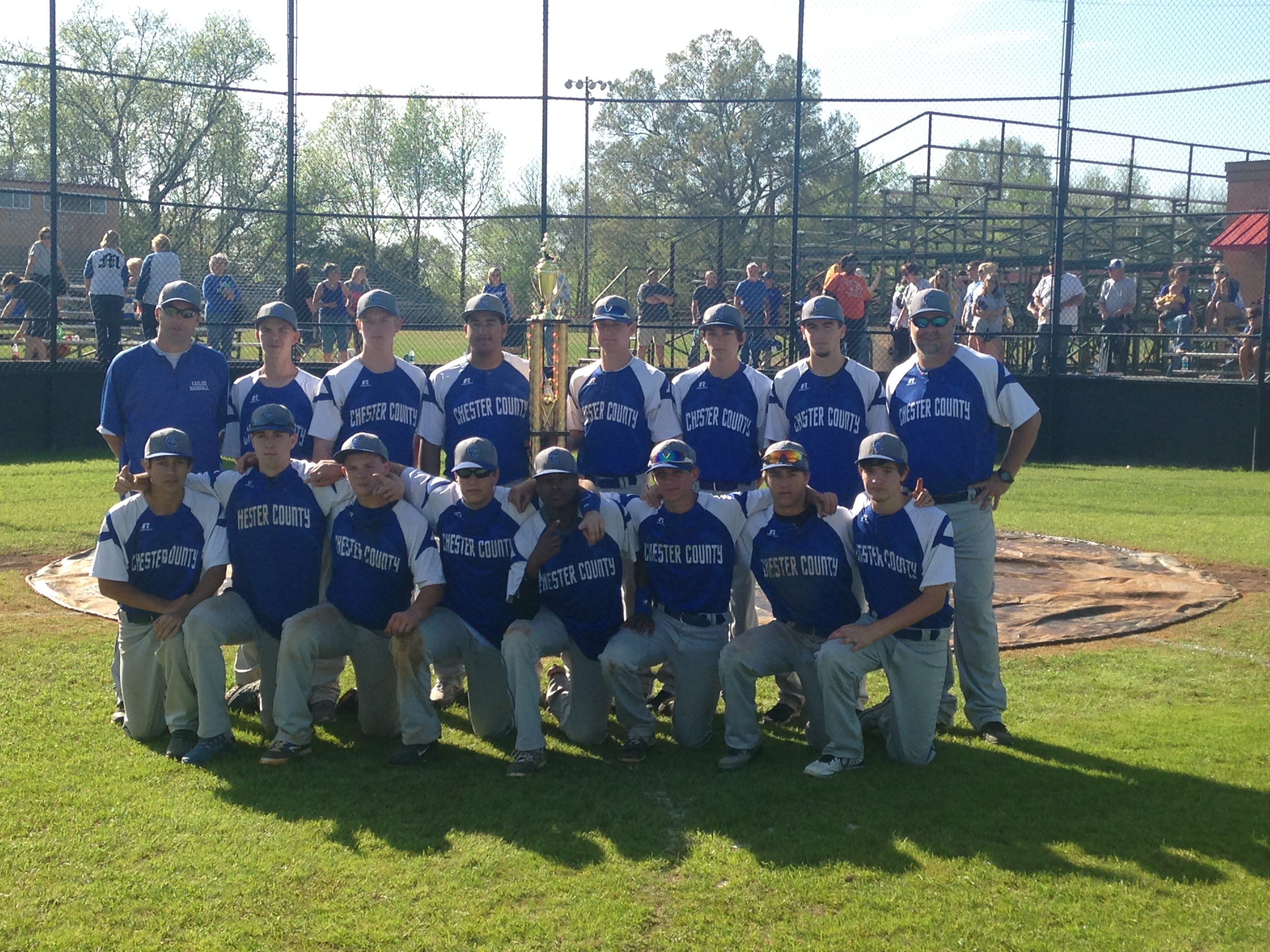 The Chester County baseball team won the Independent Appeal tournament at Adamsville.