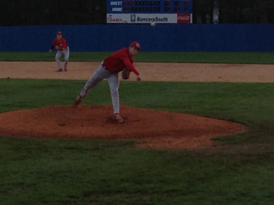 McKenzie's Jack Surber pitched all seven innings Monday, striking out four Eagles at Jackson Christian.