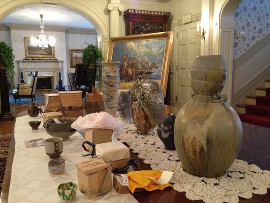 Works by Indiana potter Dick Lehman will be shown at this weekend's tours at the Haan Mansion Museum.