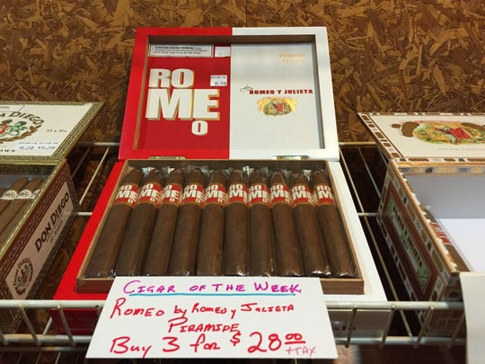 Crossroad Cigars features their Romeo cigar brand in honor of Valentine's Day.