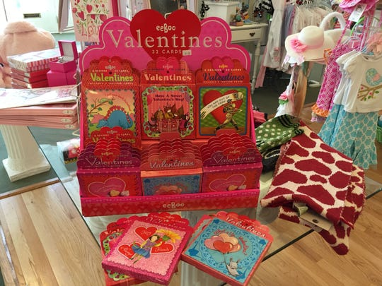 Two Tulips is the place to go for inexpensive Valentine's Day cards and decorations.