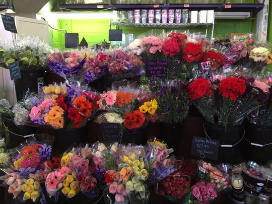 Rubia Flower Market is an inexpensive way to get great flowers for your significant other this Valentine's Day. The store sells premade arrangements, as well as bunches of flowers.