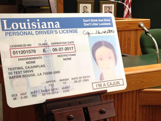 """Louisiana drivers in some cities can now have """"I'm a Cajun"""" placed on their licenses. The $5 fee will go to CODOFIL for student scholarships."""