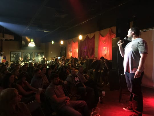 Tom Segura performs at JP's on Feb. 28