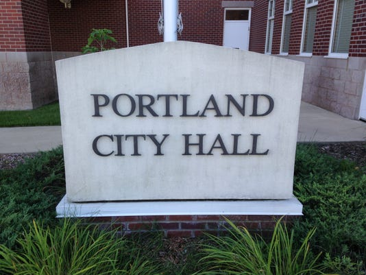 Portland City Hall sign 8-2014.JPG