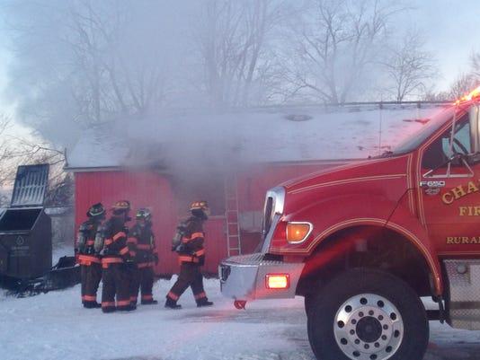 Stockyard BBQ fire in Charlotte