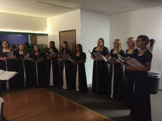 ply 1 Madrigals at AAUW