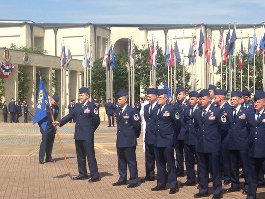 15 airmen were awarded the Chief Etchberger Team Award
