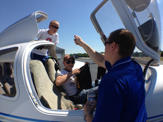 Graduates of MTSU's aerospace program can look forward to an average starting salary of $62,800.