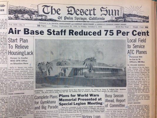 The Desert Sun, 1945