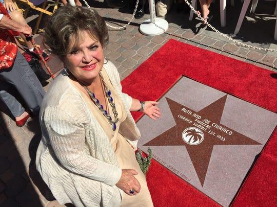 Margit with star