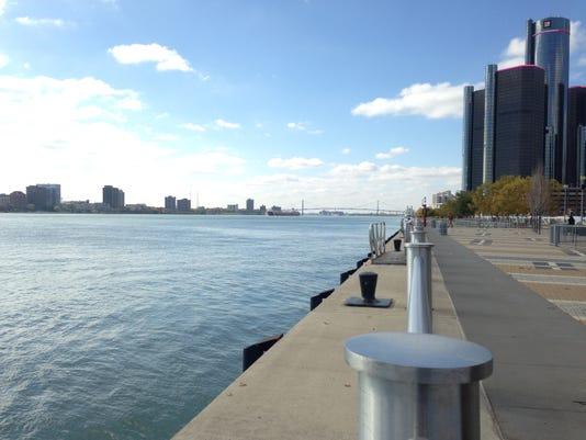 Detroit riverfront.JPG