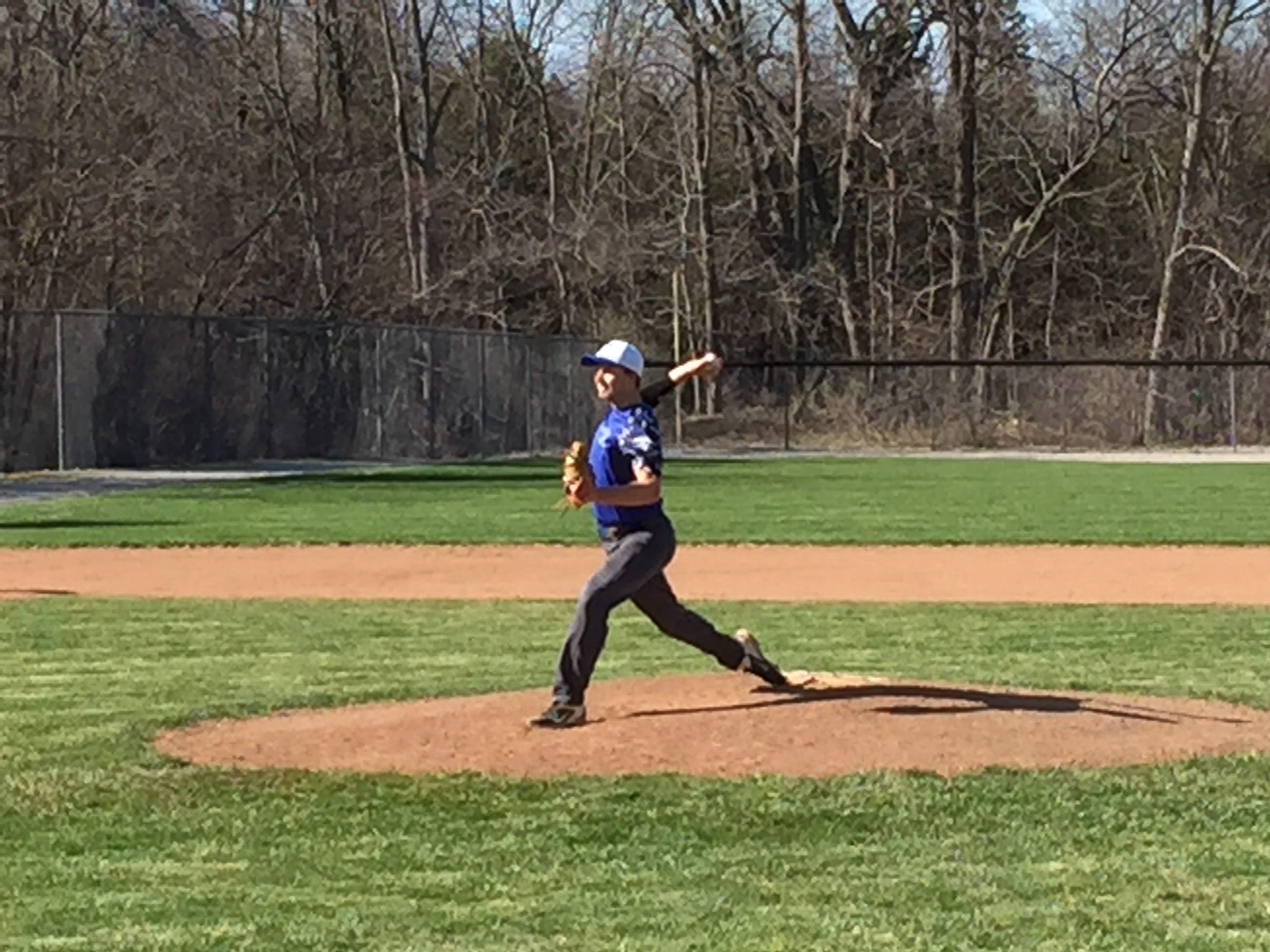 Danbury's Ben Schank pitched five innings to notch the victory Friday over Western Reserve.