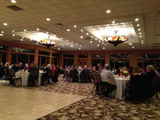 Township officials from across the county gathered at the annual meeting and dinner for the Michigan Townships Association St. Clair County Chapter on Friday in Kimball Township.