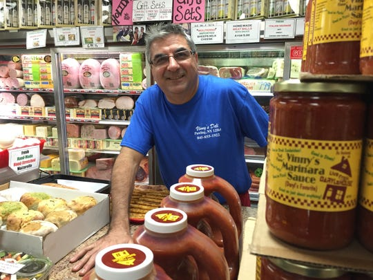 Vinny Lamorte, a Pawling resident and owner of Vinny's Deli in Pawling, has seen a boost from Daryl Hall's show.