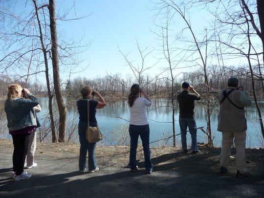 Free guided bird walks lead by members of the Ralph T. Waterman Bird Club are scheduled this weekend for Earth Day.