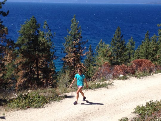 Candice Burt, 32, chose Lake Tahoe for the site of the inaugural Tahoe 200 Endurance Run because it was an opportunity to put together a 200-mile, single loop course in punishing terrain that also serves as an inspiring scenic backdrop.