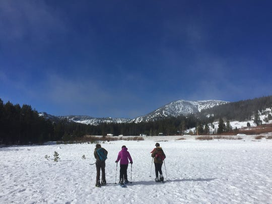 Winter can be a great time to experience Tahoe Meadows and much of the Tahoe Basin. The Tahoe Rim Trail Association is leading a series of guided hikes aimed at getting people to explore in the snow.