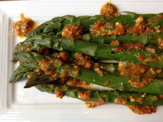 ffAsparagus with Roasted Red Pepper Vin.JPG