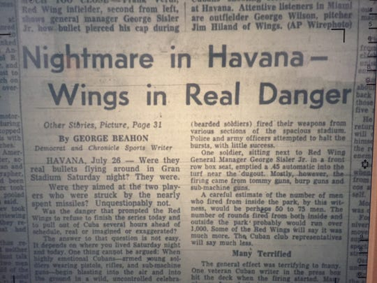 Article from Democrat and Chronicle front page on July 27, 1959.