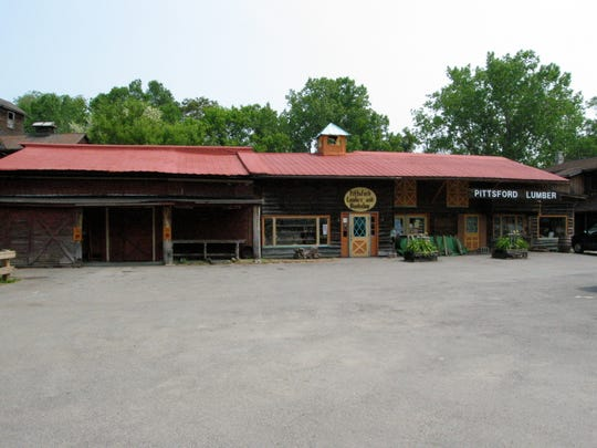 Pittsford Lumber as it appears today.