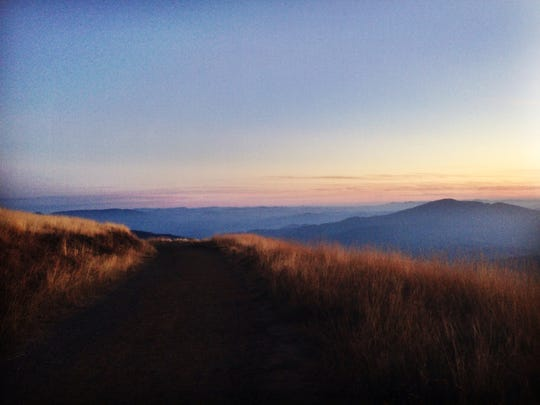 Sunset on Marys Peak is one of the best times to be at the summit.