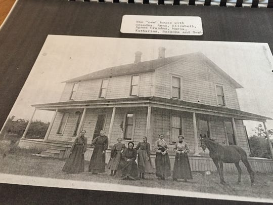 Ruth Ratzlaff shares a photo of her mother's side of the family, the Enns, who settled in the Dallas area in Polk County in 1890.
