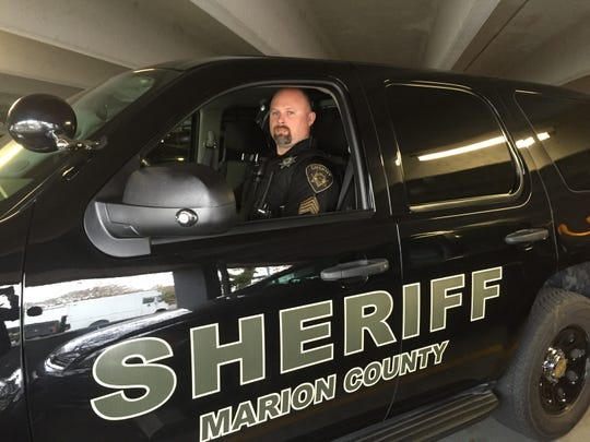 Jeff Stutrud, patrol sergeant for Marion County.