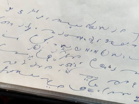 Handwritten notes by researcher and author Ann Lossner are preserved at Keizer Heritage Museum, including some in shorthand. Lossner died April 18. She was 101.