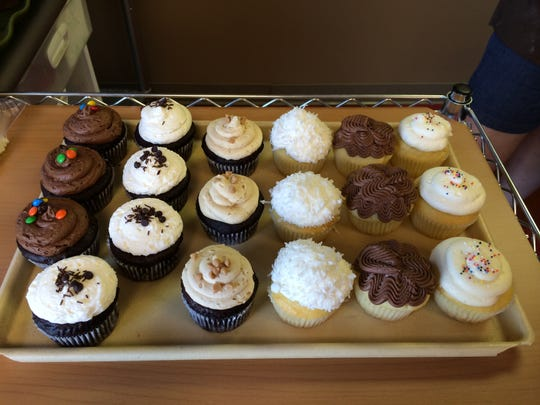 Sweet Disposition in Selbyville offers a variety of sweet treats including wedding cakes, brownies and cupcakes. The Devil's Own cupcake is a customer favorite.